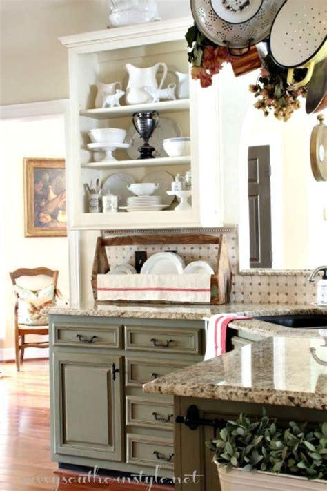 Open Shelving Restyled Kitchen Open Shelving Home Decor Love