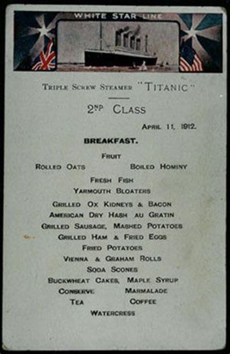 titanic second class menu 1000 images about titanic on pinterest rms titanic