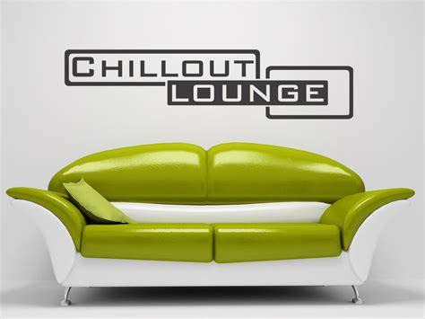wandtattoo chillout lounge retro stil wandtattoo com