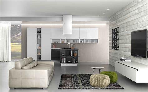 cucina soggiorno moderno cucina e soggiorno in un unico ambiente 3 stili cose di