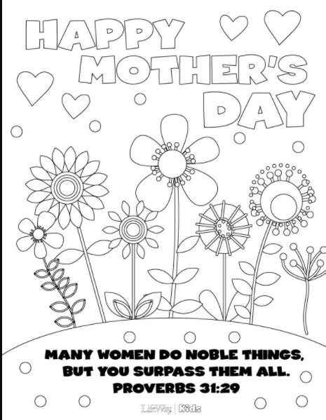 crayola coloring pages mothers day best mother s day coloring pages jellytelly parents