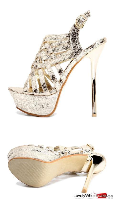 kvoll shoes summer new style gladiator sandal golden pumps