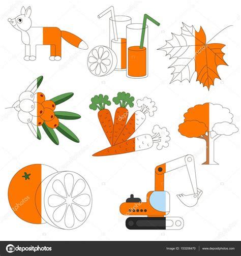 imagenes animadas a color objetos de color naranja el juego de ni 241 os grandes a ser