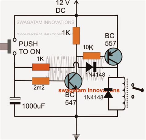 bc547 transistor inverter duration timer circuit using transistors electronic circuit projects