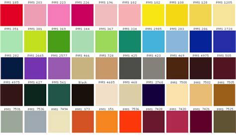 tavola colori pantone colori pantone ecco cosa sono e come vanno stati