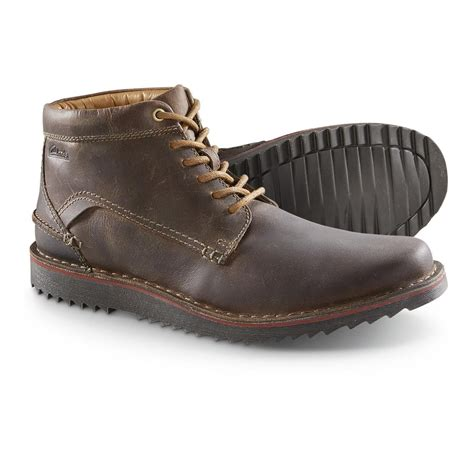 Clarks Chuka Brown clarks remsen chukka boots 647161 casual shoes at