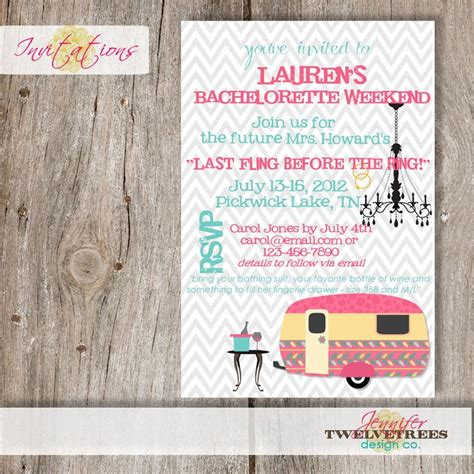 Handmade Bachelorette Invitations - 17 best images about to be ideas on