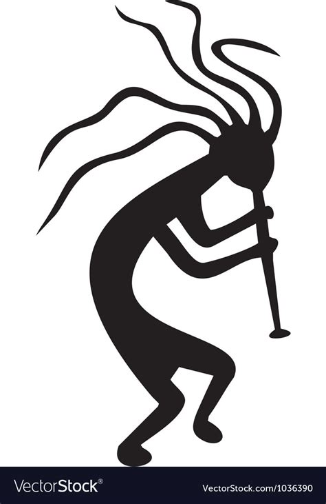 tribal kokopelli tattoo designs kokopelli tribal symbol royalty free vector image