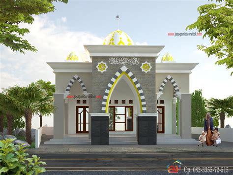 design masjid minimalis gambar desain rumah 1 lantai ukuran 8 x 12 contoh sur