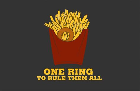 one rule one ring to rule them all bustedtees bustedtees