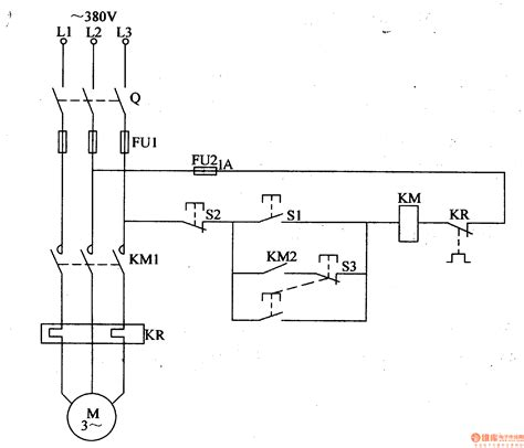 common electrical motor controlled circuit 3
