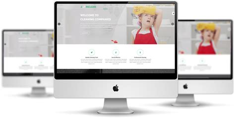 layout template responsive lt inclean free joomla cleaning service template