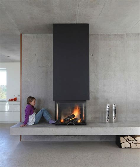 gas kamin surround 25 cool firewood storage designs for modern homes