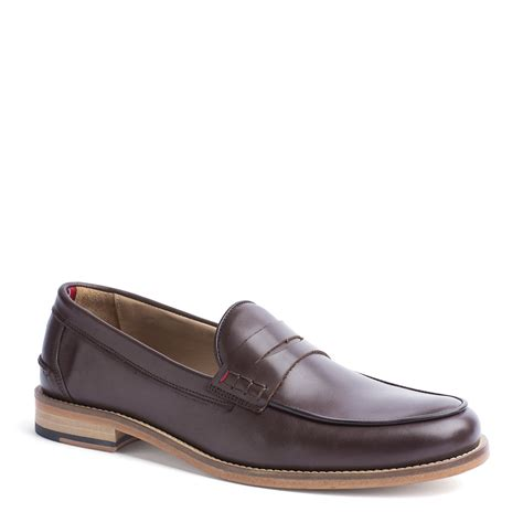 hilfiger loafer shoes hilfiger andre loafer in brown for coffee
