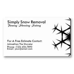 free snow plowing business card templates 1000 images about snow removal business cards on