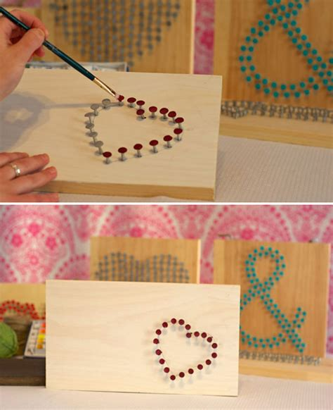 Nail String Tutorial - string nail sign tutorial create the design with nails