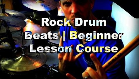drum rhythms online rock drum beats beginner drum lesson course total