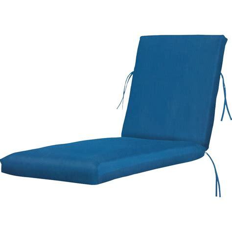 sunbrella chaise lounge cushion home decorators collection sunbrella regatta rectangular