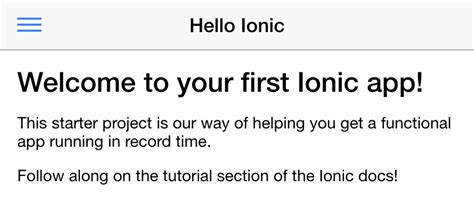 ionic serve tutorial tutorial