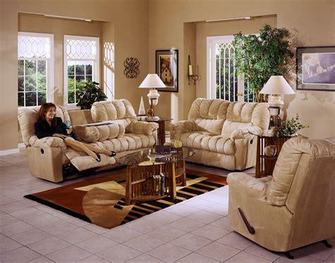 cloth reclining sofa cuddler saddle suede cloth reclining sofa by catnapper