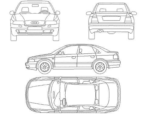 truck templates for autocad car audi a4 dwg block for autocad designs cad