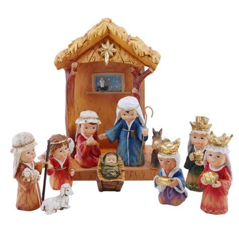 children s nativity children s nativity set 11 pc the catholic company