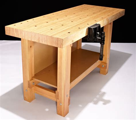 oak work bench furniture cozy craftsman workbench with oak wood material