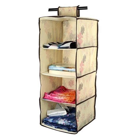 Wardrobe Shelf Organiser by Lagute Hanging Shelf Wardrobe Storage Clothing Shelves