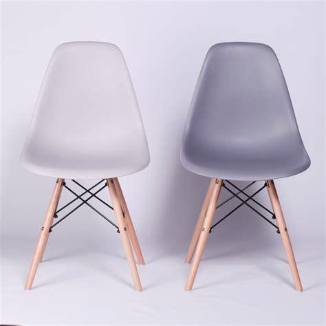 eiffel moulded grey modern dining chair furniture