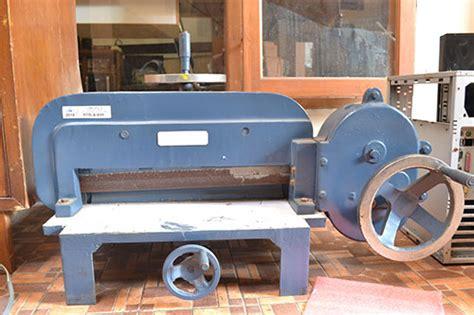 Mesin Potong Kertas Perfecta Jual Mesin Potong Kertas Alat Potong