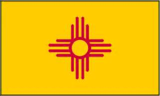 new mexico colors pin new mexico flag on