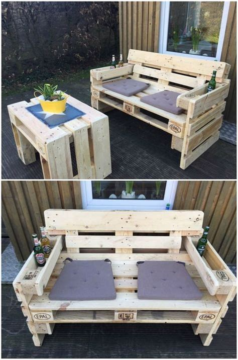 How To Make Patio Furniture Out Of Wood Pallets Best 25 Pallet Outdoor Furniture Ideas On Diy Pallet Patio Furniture Pallet
