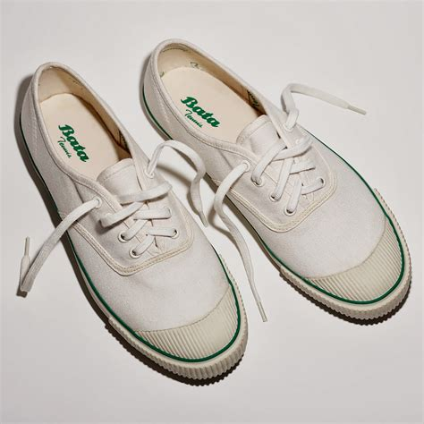 relaunch of a classic vintage 1936 bata sneaker