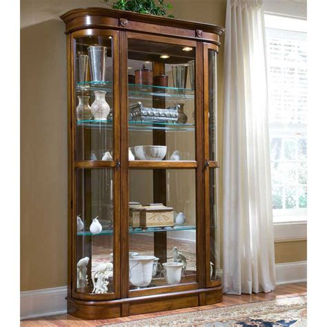 Curio Cabinet Glass Door Cabinet Doors Glass Door Curio Cabinet