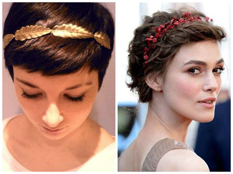 headbands on buzz cut hair pixie haircut with headband haircuts models ideas
