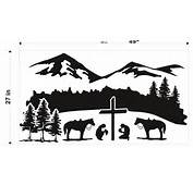 The Cowboy At Cross Decal For Pinterest