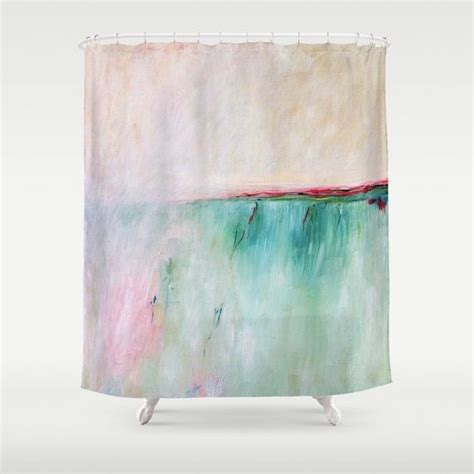 red and aqua curtains 1000 ideas about pink shower curtains on pinterest