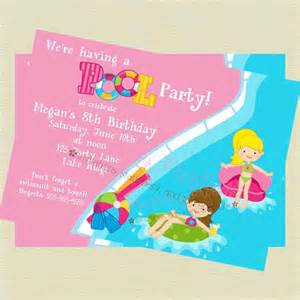 printable pool invitation by noteworthy printables catch my