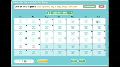 Calendar Sign In Creating An Sign Up Sheet Or Volunteer Calendar