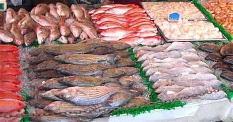 membezakan ikan segar busuk  pasar