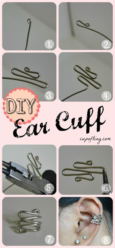 how to make ear cuffs jewelry 25 more cool projects for diy projects creative