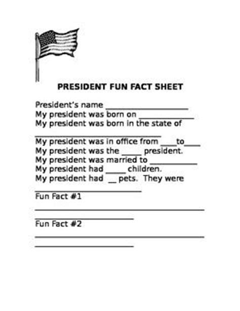 president biography report template 24 best images about president report on