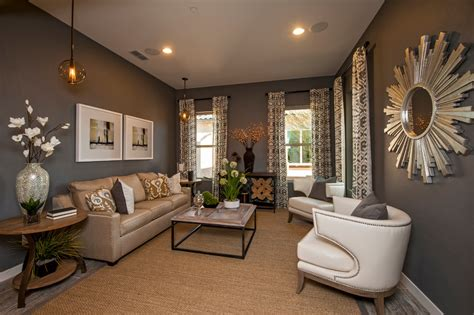 tjs room tj maxx furniture living room contemporary with beige patterned curtain beige sofa brown wall