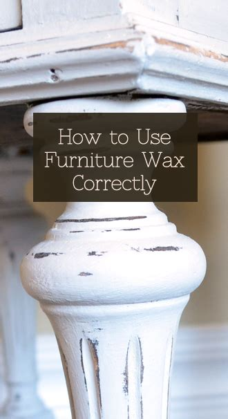 how to remove wax from a couch how to use furniture wax correctly