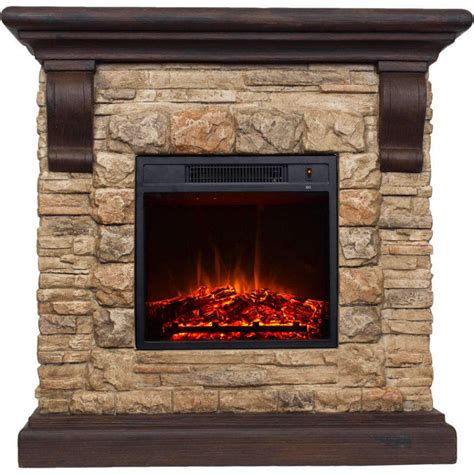 Electric Fireplace Home Decoration Free Standing Rock Electric Fireplace