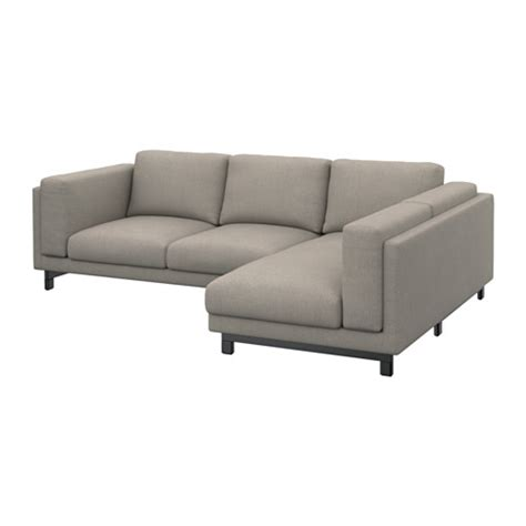 sofa 3 lugares chaise nockeby loveseat with chaise right right ten 246 light