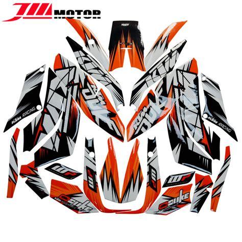 vinilos ktm 390 hot sale new arrival motorcycle whole vehicle 3m decals