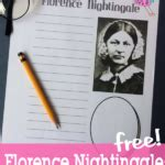 florence nightingale l template florence nightingale notebooking pages notebooking