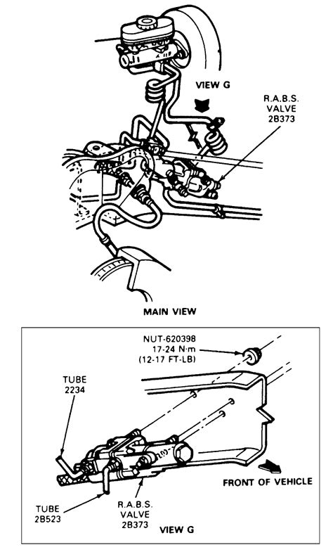 repair anti lock braking 2009 ford f250 user handbook fig fig 9 exploded view of the steering knuckle and