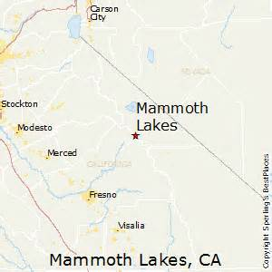 mammoth lake california map best places to live in mammoth lakes california